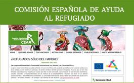Web de CEAR - Comisión Española de Ayuda al Refugiado.