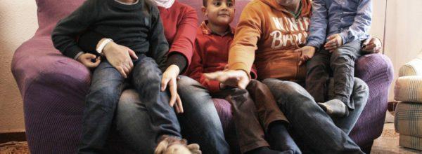 Haz posible unas Navidades lejos de la guerra para Rasha y su familia
