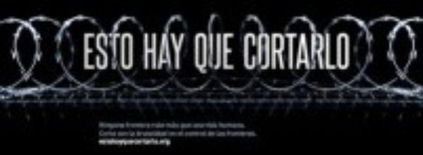 Esto hay que cortarlo, una campaña contra las cuchillas en la frontera de Ceuta y Melilla
