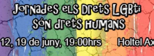 """Jornadas """"los derechos LGTBI son derechos humanos"""""""