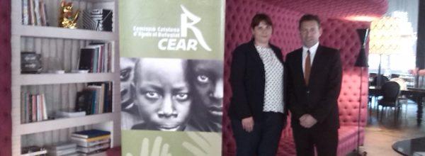 El Hotel Barcelò Raval y la CCAR firman un convenio de colaboración en motivo de los premios al compromiso con las personas refugiadas 2014