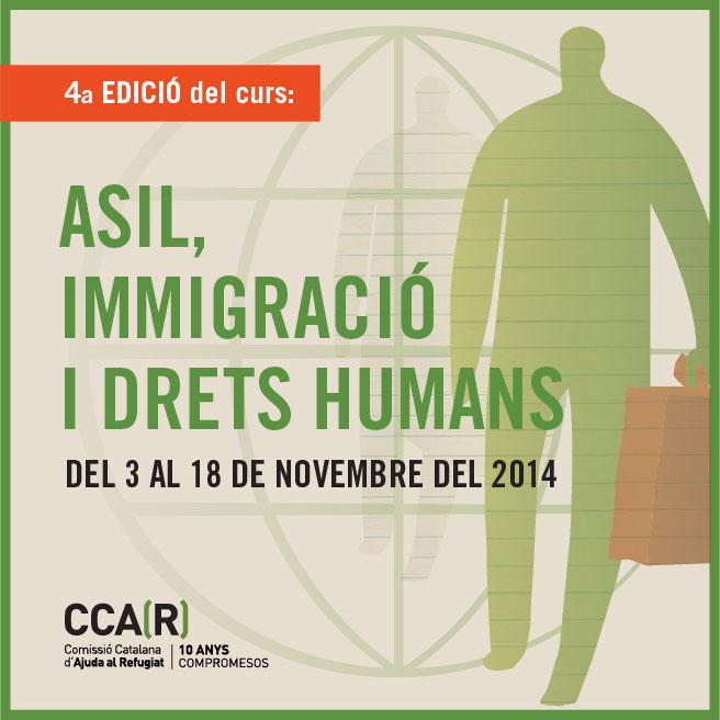 """4ª Edició Del Curs """"Asil, Immigració I Drets Humans"""""""