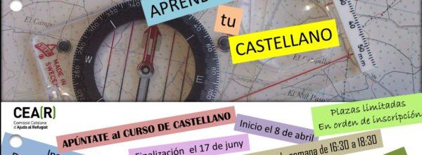 Clases de castellano: abiertas las inscripciones