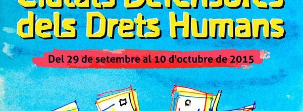 Ciudades Defensoras de Derechos Humanos, 29 de septiembre – 10 de octubre