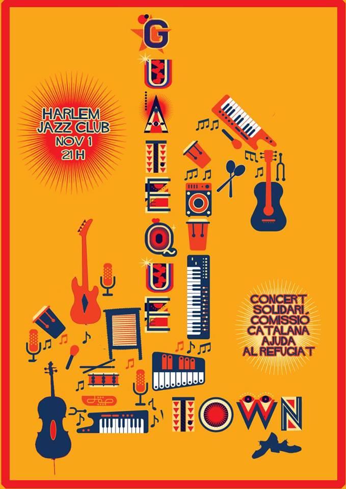 Concert Solidari Amb Els Refugiats Al Harlem Jazz Club! Diumenge 01/11 A Les 20.00