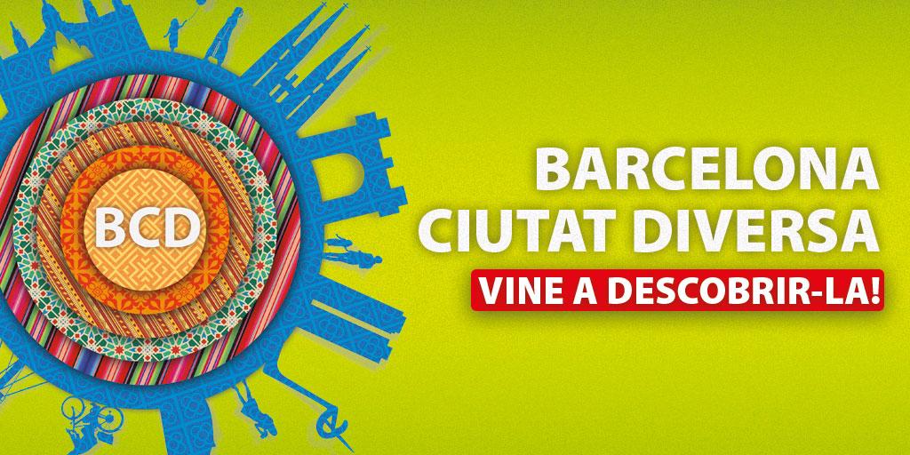 Barcelona Ciutat Diversa el 23 d'octubre: Vine a conèixer-nos!