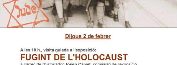 """""""Holocausto, Memoria y compromiso"""" jueves 2 de febrero"""