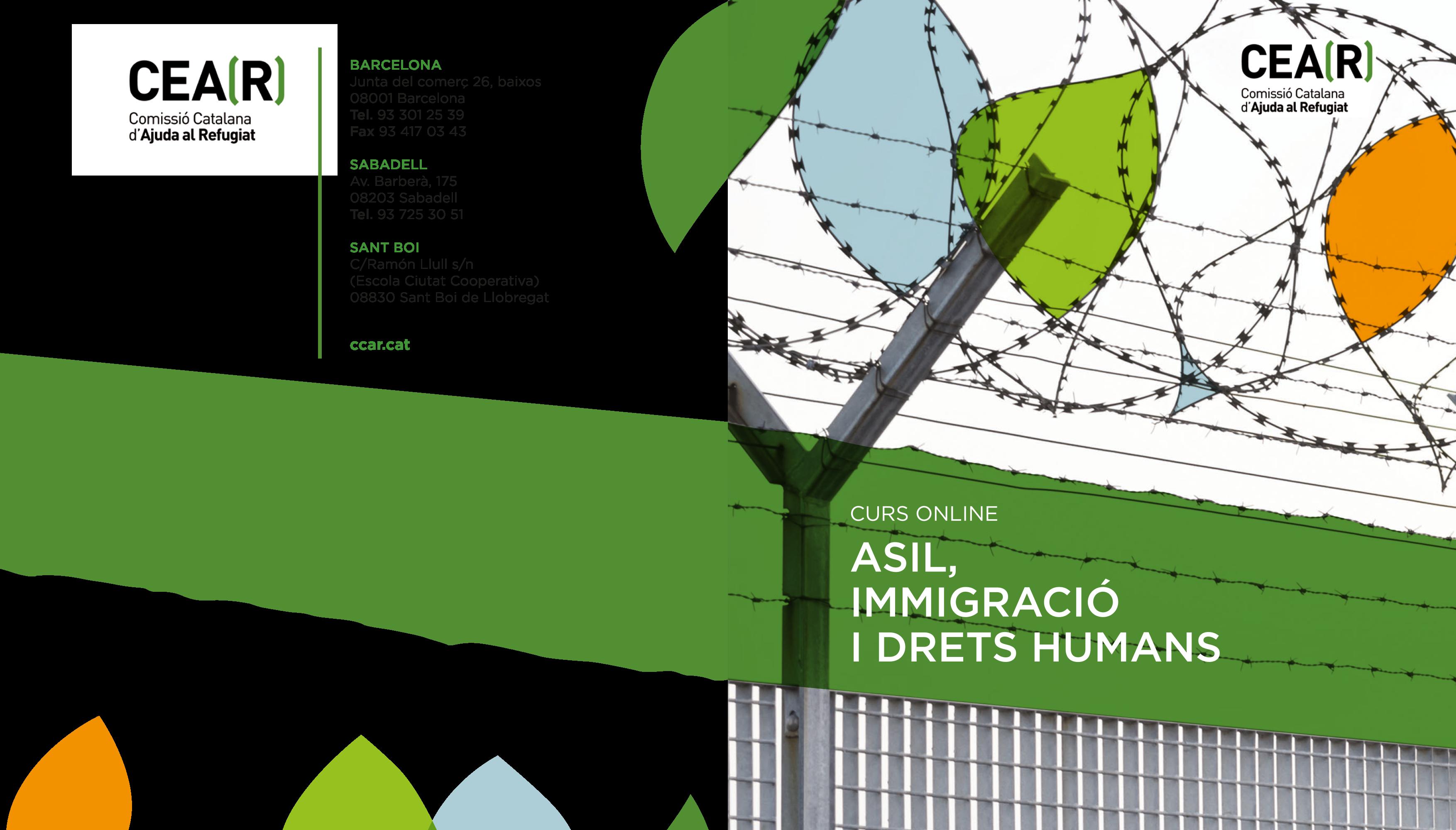 """Selecció De Treball De L'alumnat Del Curs """"Asil, Immigració I Drets Humans"""""""