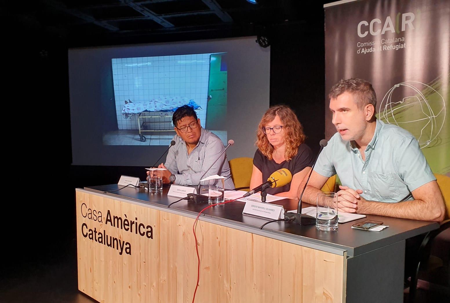 """La Comissió Catalana D'Ajuda Al Refugiat (CCAR) Presenta L'Informe """"Maras: Veure, Escoltar I Callar"""""""