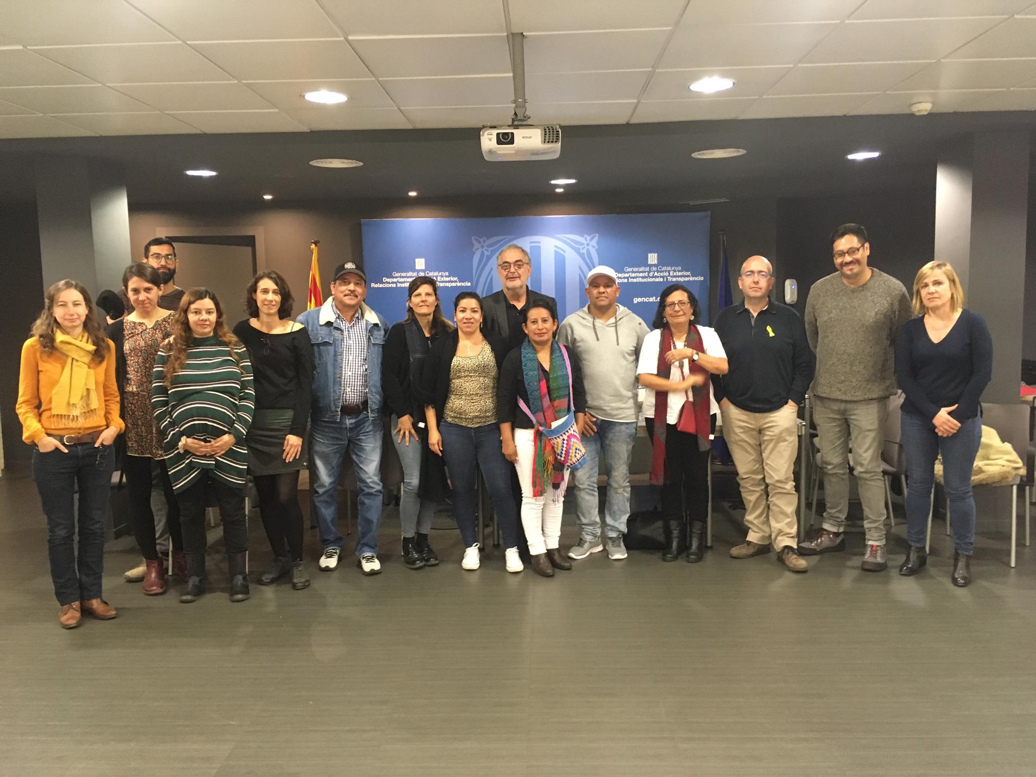 Damos La Bienvenida En El Programa Catalán De Protección A Defensores Y Defensoras De Los Derechos Humanos, Edición 2019-2020.