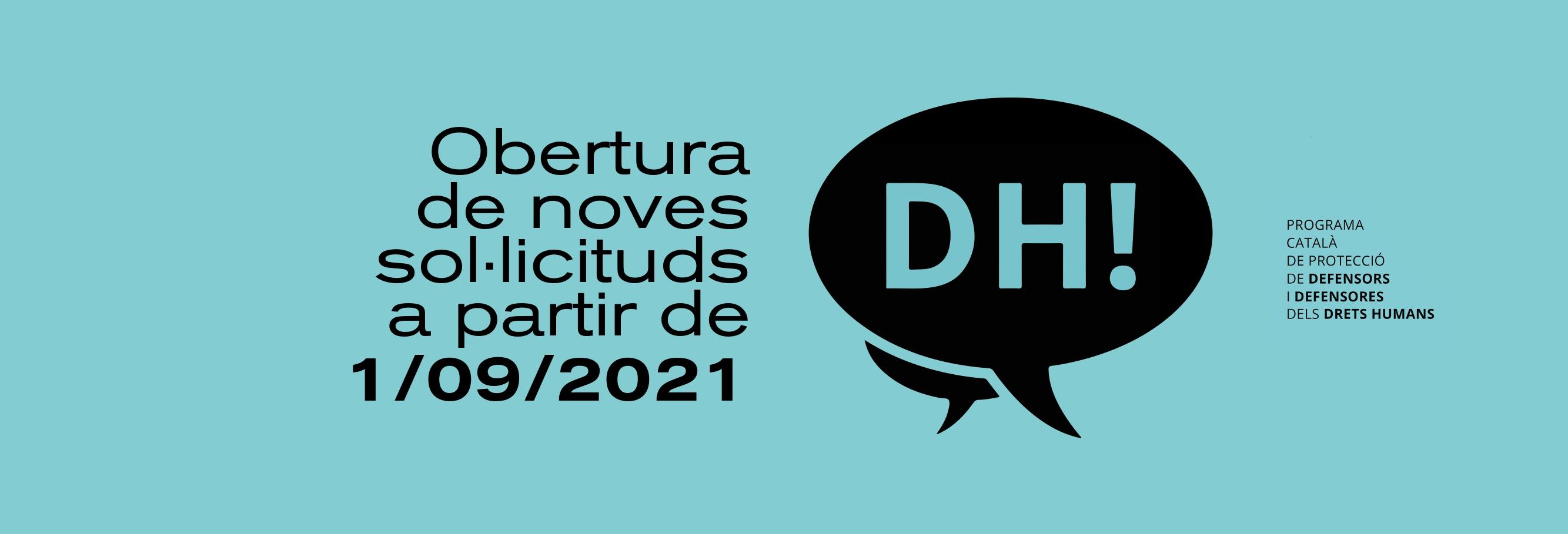Nova Convocatòria De Presentació De Candidatures Pel PCPDDH
