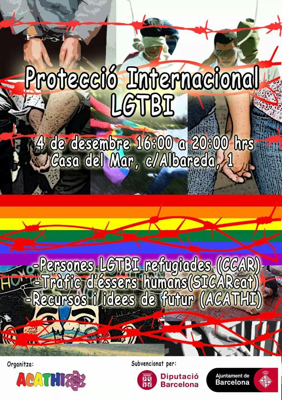 La Protecció Internacional LGTBI, Dijous 4 De Desembre A La Casa Del Mar