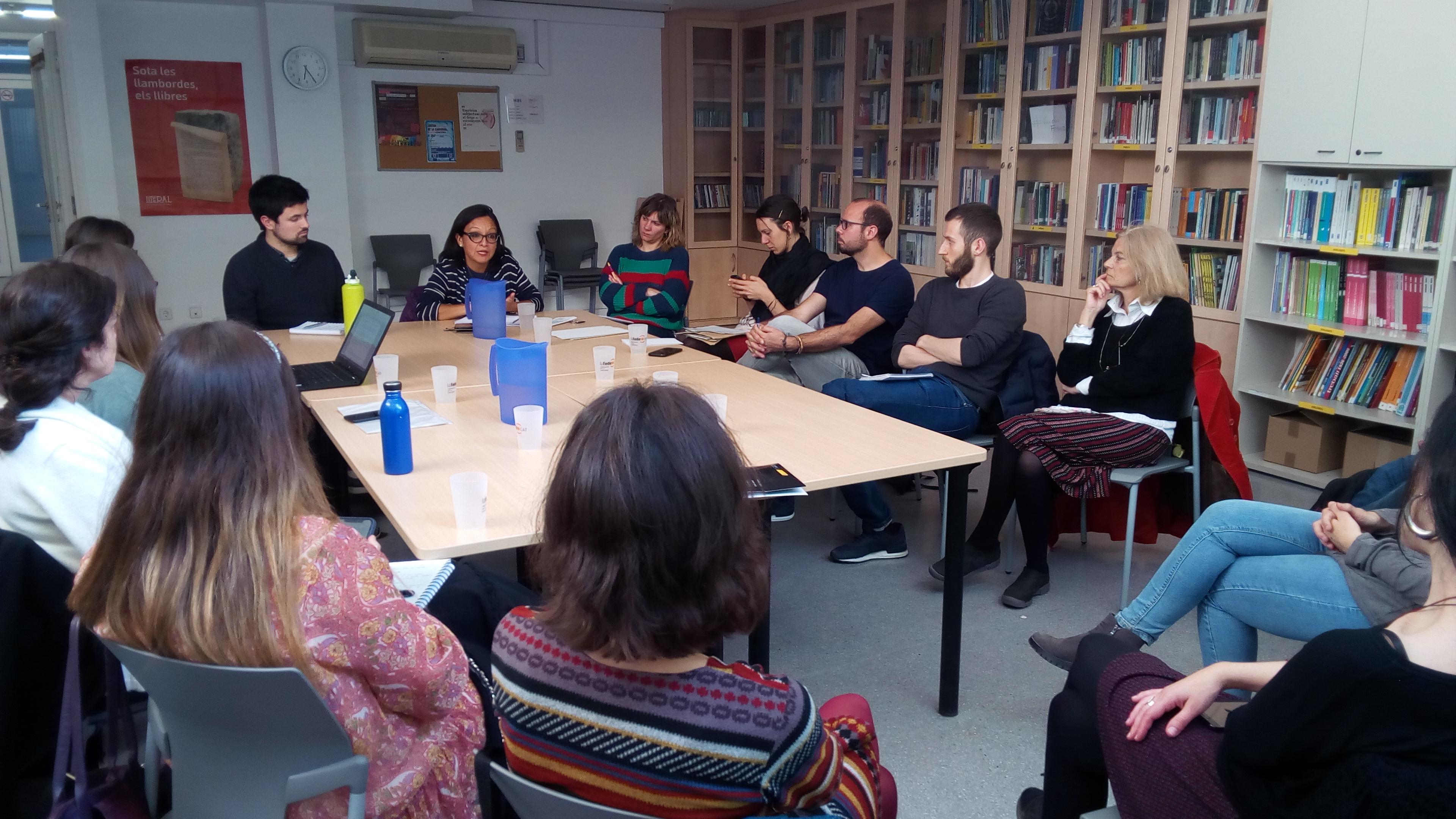 Encuentro Con Edda Pando, Activista Por Los Derechos De Los Persones Migradas En Italia